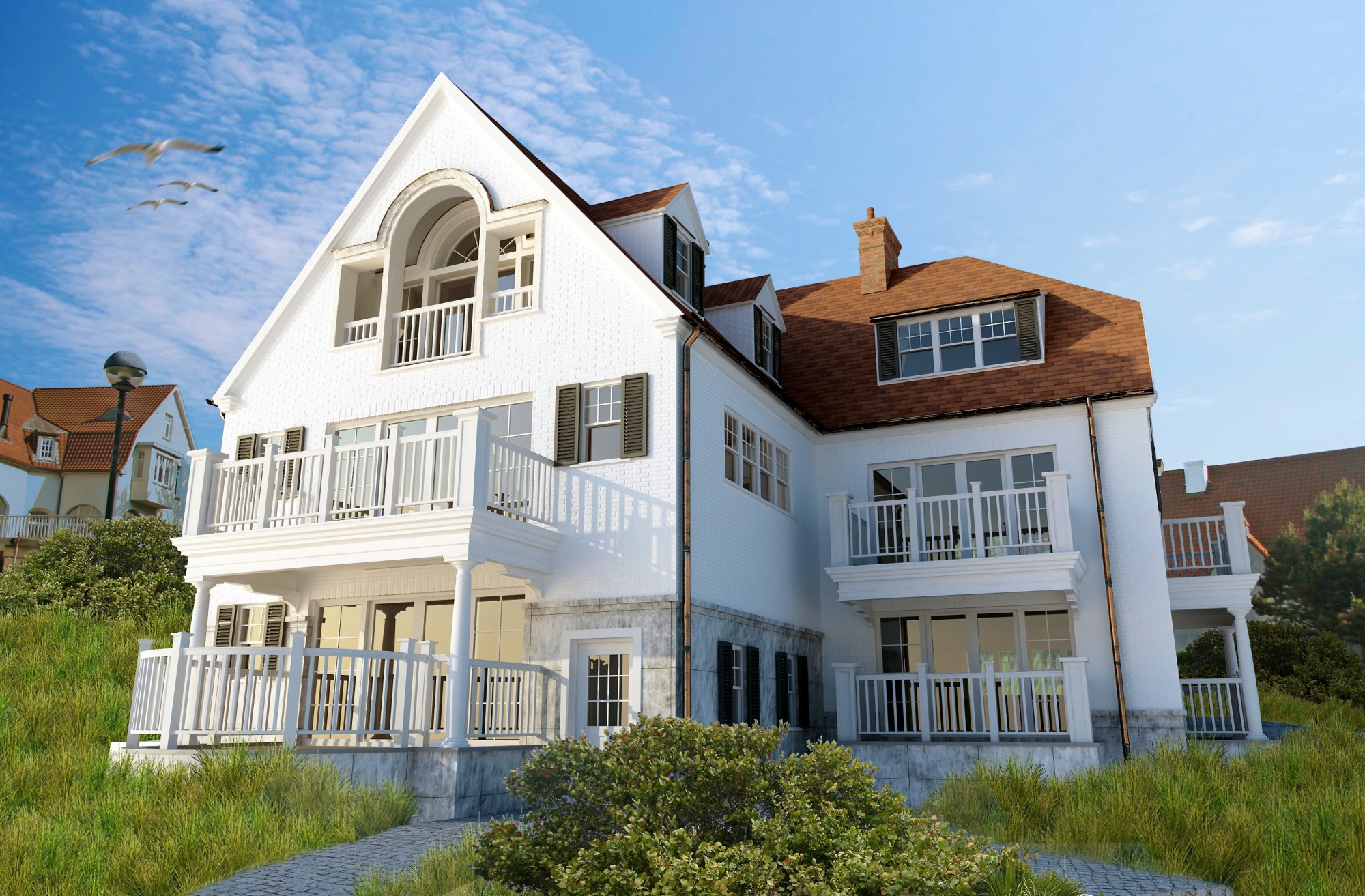 Verkoop nieuwbouw prestigieus vastgoedkantoor gevestigd for Huizenverkoop site