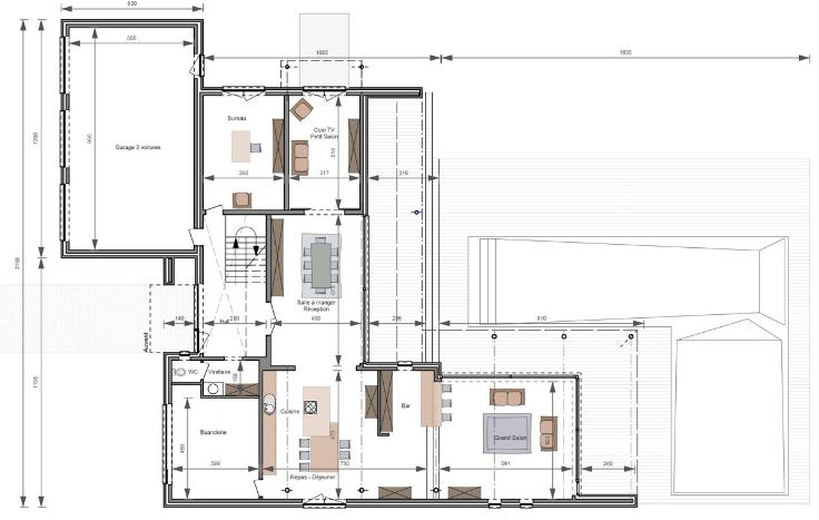 Vente Villa 4 CH Knokke-Heist - Grand terrain + projet pour une villa / Seringendreef
