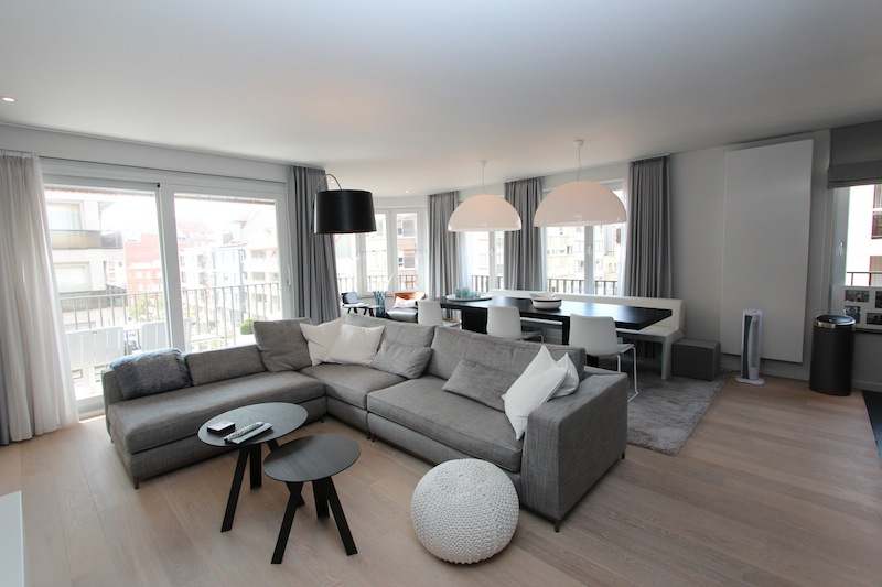location appartement meuble knokke