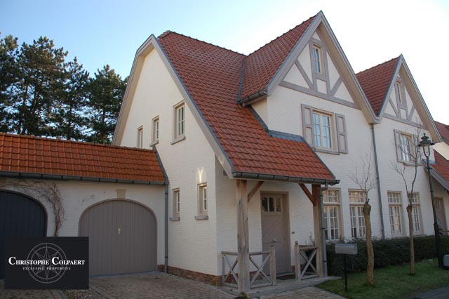 Locations villa t4 f4 knokke heist cottage woning agence for Maison style cottage