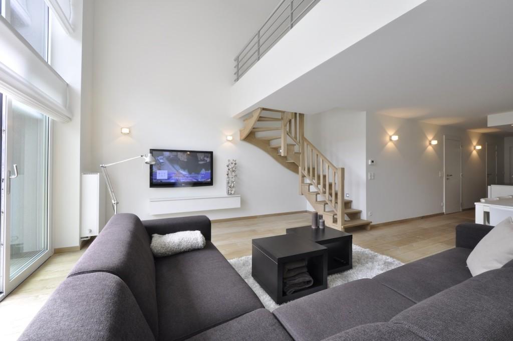 Ventes appartement t4 f4 knokke heist mezzanine prestigieus vastgoedkantoor gevestigd in - Studio plan met mezzanine ...