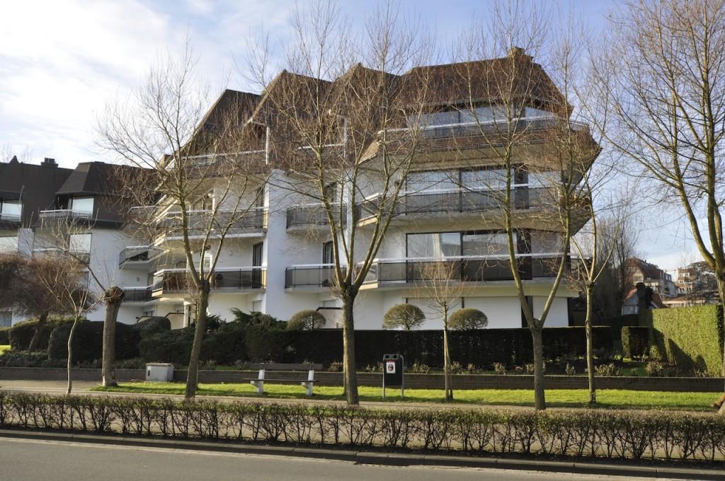 Ventes appartement t2 f2 knokke zoute villaresidentie for Le jardin knokke