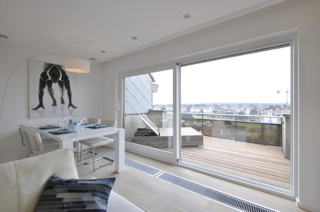 Ventes appartement t2 f2 knokke zoute penthouse minigolf agence immobili re prestige knokke - Dachwohnung interieur penthouse ...