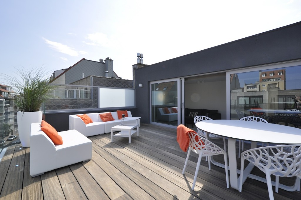 Ventes appartement t2 f2 knokke heist penthouse aan for Appartement sur les toits paris