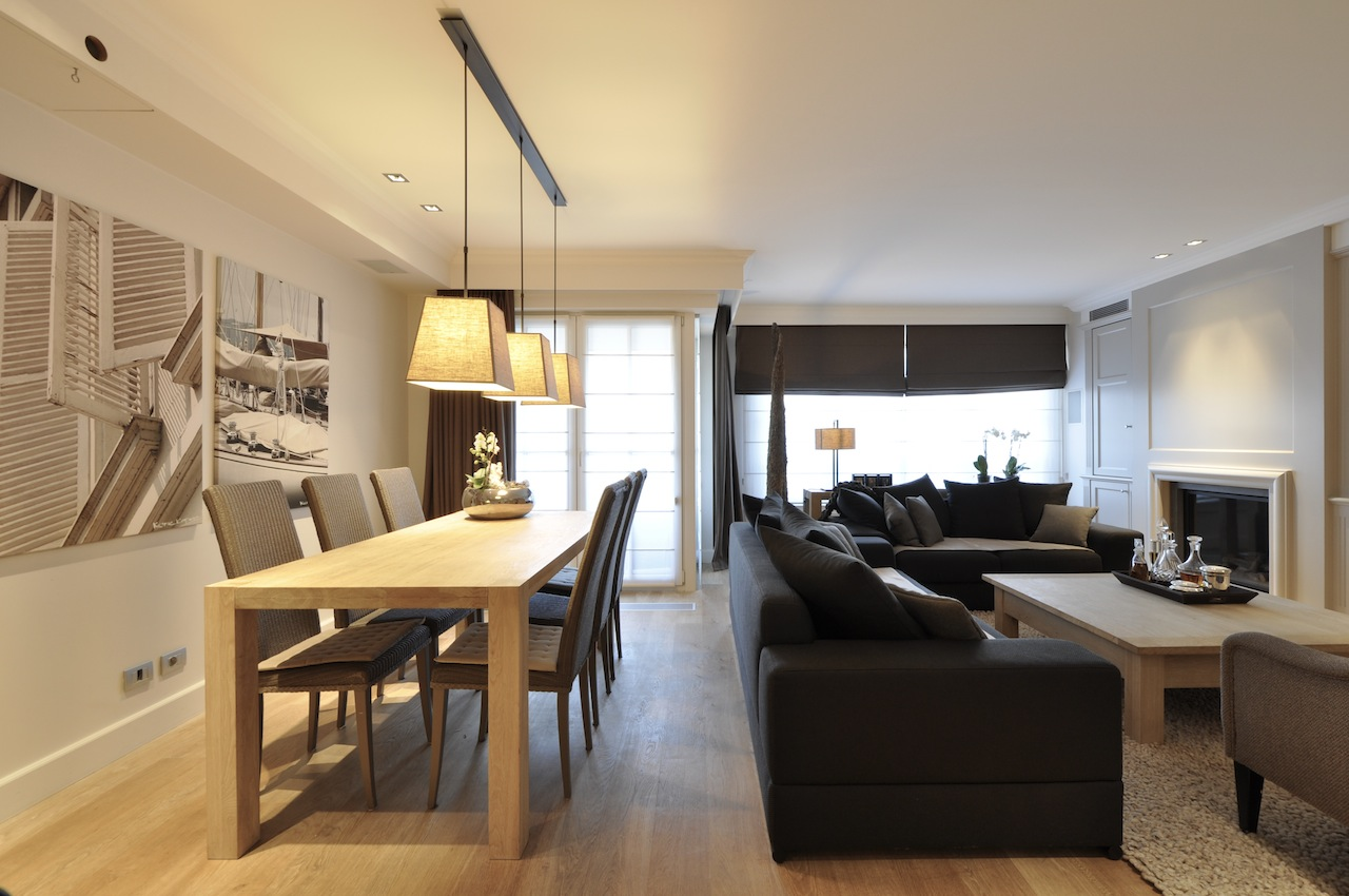 Ventes appartement t3 f3 knokke heist hedendaags for Photo interieur