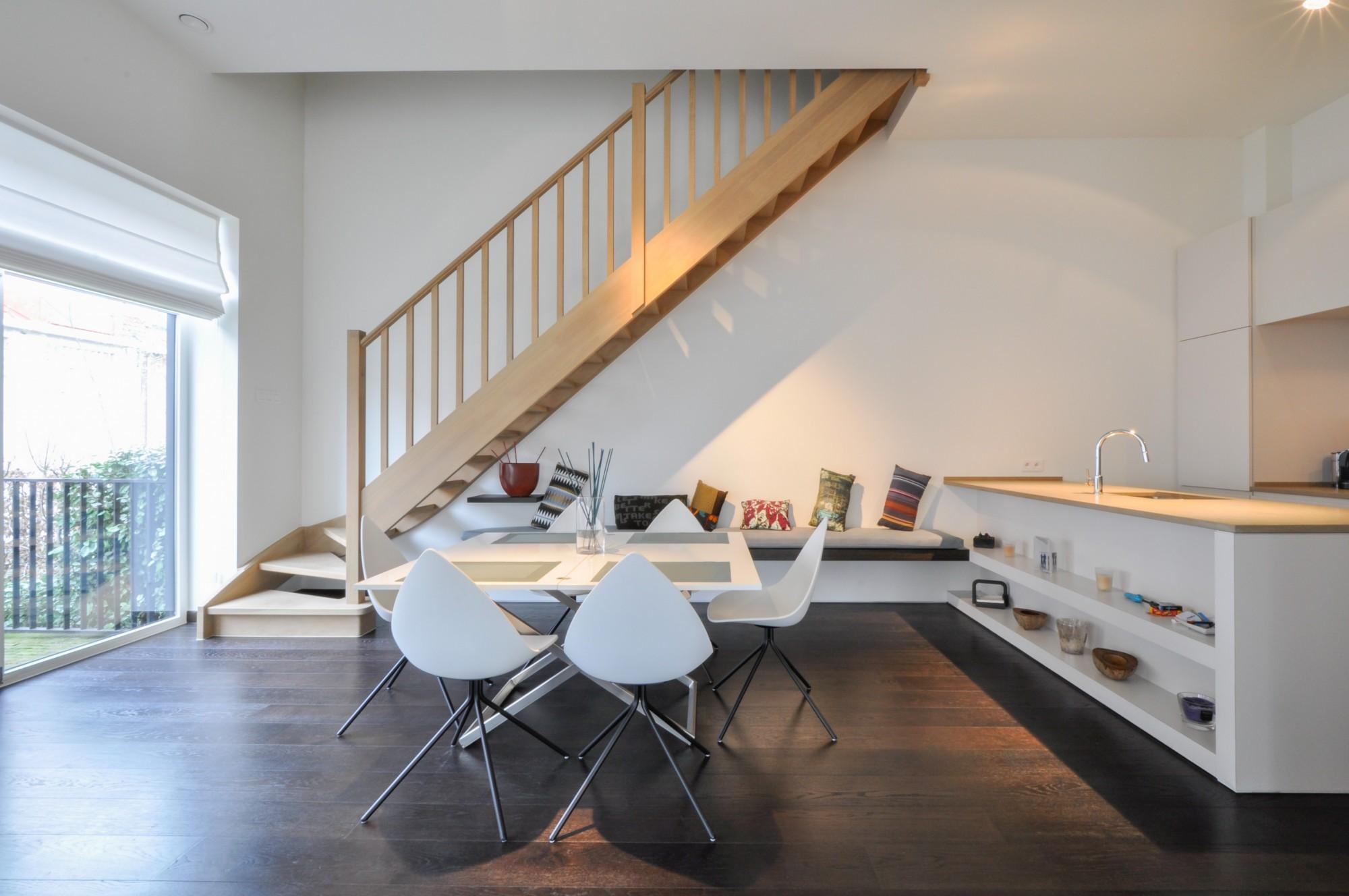 Locations huis t3 f3 knokke zoute loft woning aan de for Lijst inrichting huis