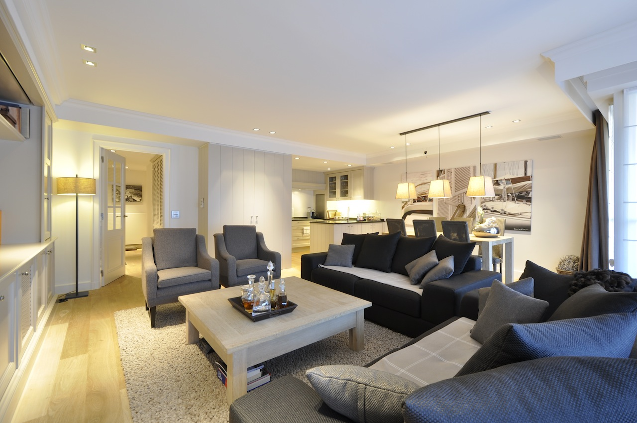 Ventes appartement t3 f3 knokke heist hedendaags interieur agence immobili re prestige knokke - Appartement contemporain kiev ...