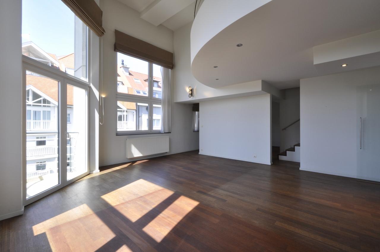 Vente Appartement 4 CH Knokke-Heist - Appartement de coin /Duplex avec mezzanine