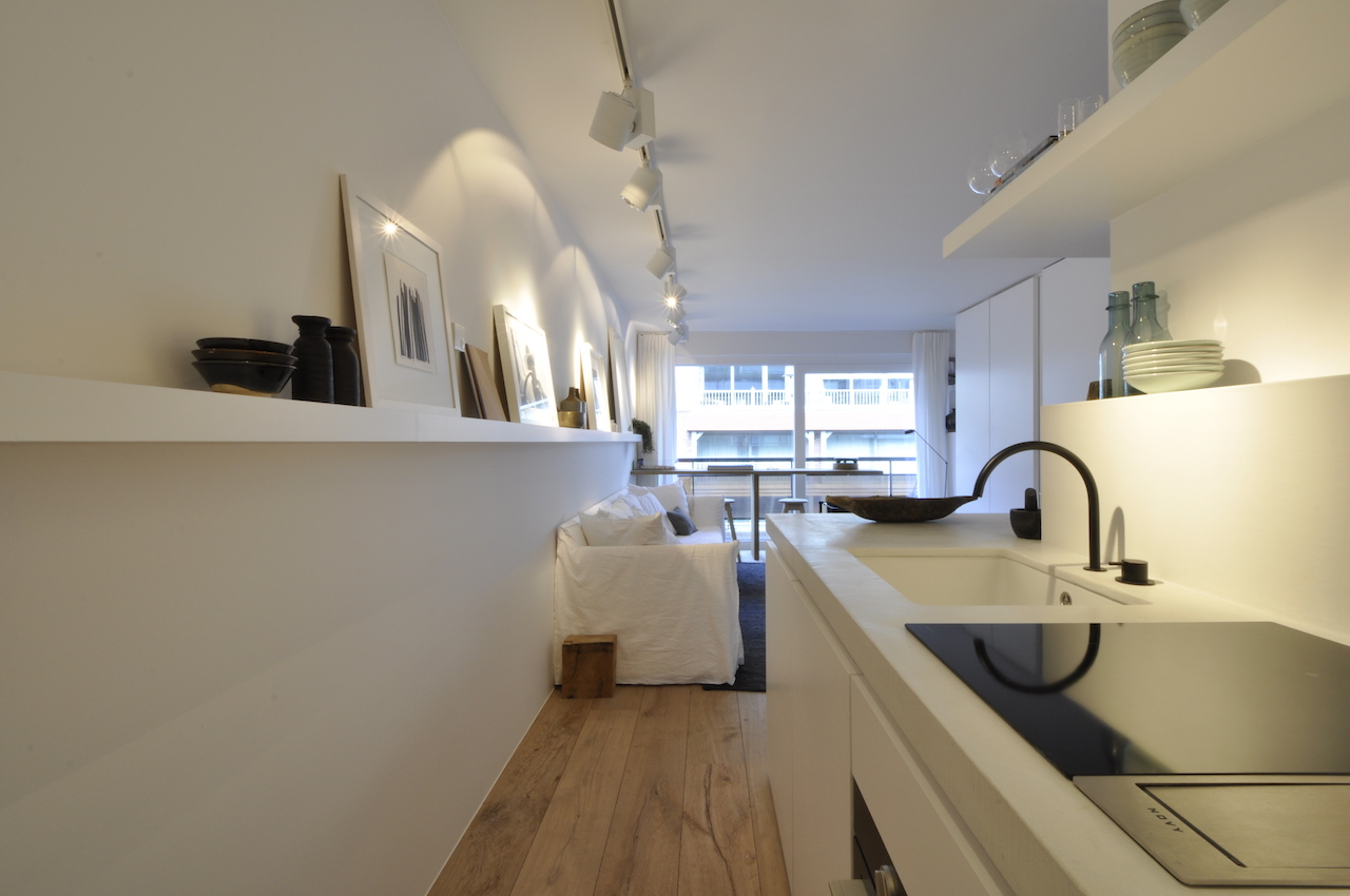 Vente Studio 1 CH Knokke-Heist - Studio avec coin à dormir / Finition contemporaine