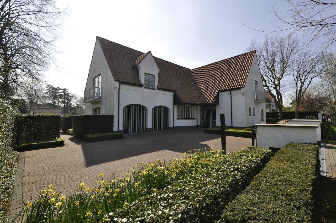 Vente Villa Knokke-Zoute Villa avec jardin + terrain à construire attenant