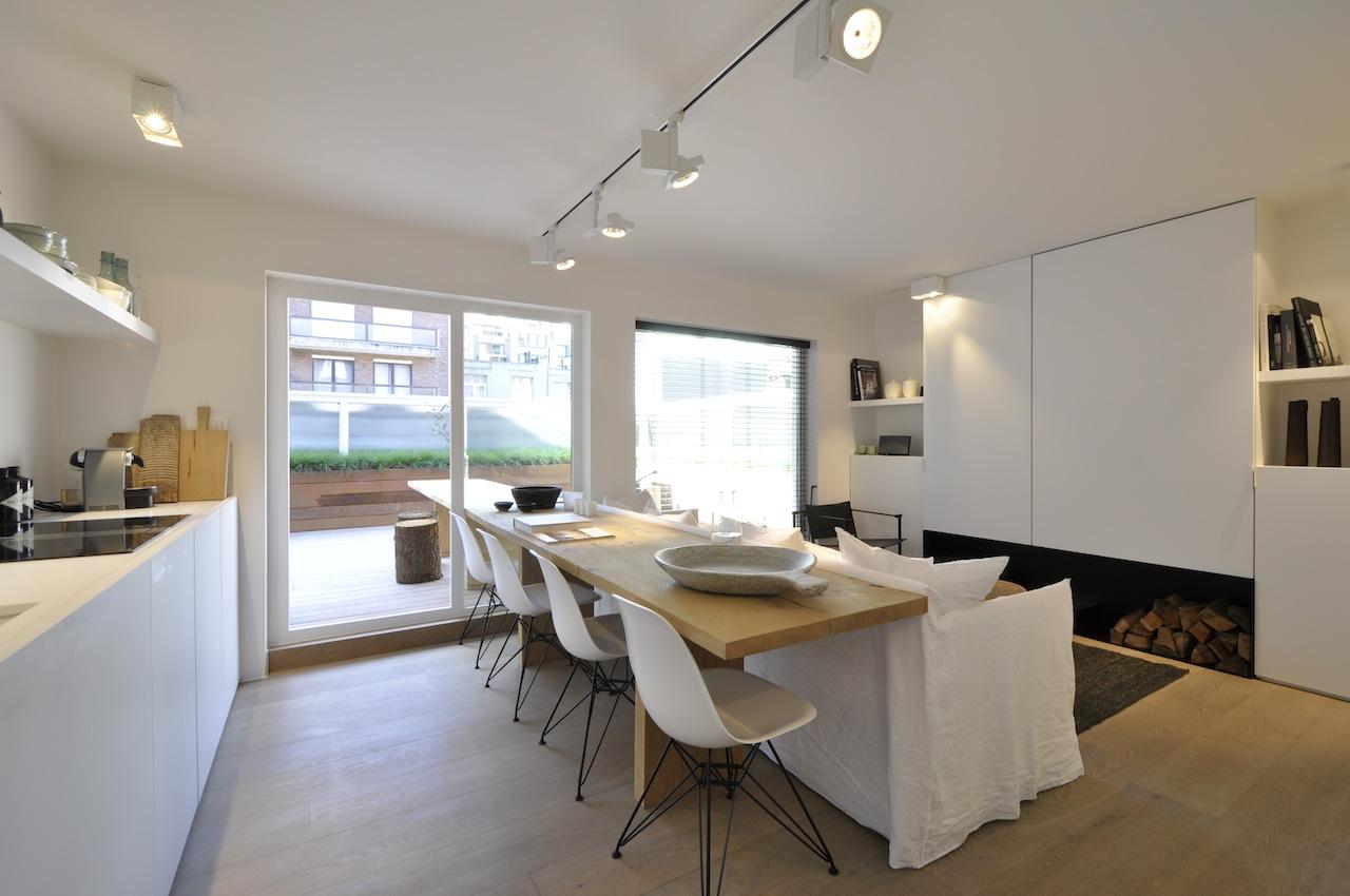 Ventes studio knokke heist tijdloze en hedendaagse inrichting prestigieus vastgoedkantoor - Kleine studio ontwikkeling ...