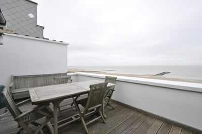 Appartement 1 CH Knokke le Zoute - Penthouse digue de mer  Loué