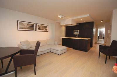 Vente Appartement 2 CH Knokke le Zoute vue mer de biais