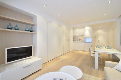 Ventes appartement knokke heist trendy pied terre for Inrichten kleine ruimtes