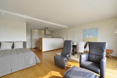Appartement Knokke-Zoute Résidence Lekkerbek digue piétonnière Loué